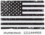 grunge flag of united states...   Shutterstock .eps vector #1211444905