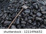 coal anthracite in a heap | Shutterstock . vector #1211496652