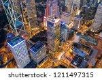 central  hong kong  04 october...   Shutterstock . vector #1211497315