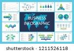 creative business infographic... | Shutterstock .eps vector #1211526118