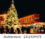 riga  latvia   december 24 ... | Shutterstock . vector #1211529475