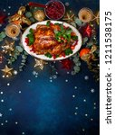 concept of christmas or new... | Shutterstock . vector #1211538175