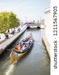 aveiro  portugal   august  17 ... | Shutterstock . vector #1211567905