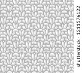 vector double moss stitch... | Shutterstock .eps vector #1211576122