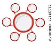 seven frame for any text | Shutterstock .eps vector #121157752