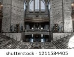 the inside of the washington... | Shutterstock . vector #1211584405