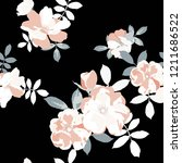 seamless floral pattern.... | Shutterstock .eps vector #1211686522