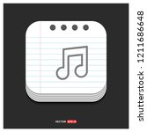 music symbol icon   free vector ...