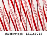 Closeup Of Peppermint Candy...
