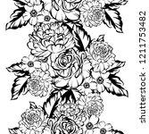 abstract elegance seamless...   Shutterstock . vector #1211753482