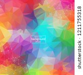 colorful abstract background....   Shutterstock .eps vector #1211755318