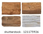 collection of various  empty... | Shutterstock . vector #121175926