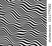 black and white design. pattern ... | Shutterstock .eps vector #1211779282
