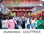 asakushi  tokyo   japan  ...   Shutterstock . vector #1211779315