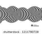 black and white design. pattern ... | Shutterstock .eps vector #1211780728