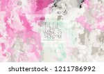 abstract cover template with... | Shutterstock .eps vector #1211786992