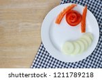 Vegetable Carving Designs On...