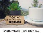 motivational and inspirational... | Shutterstock . vector #1211824462