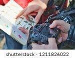 ufa  russia   april 9 2016  ... | Shutterstock . vector #1211826022