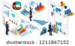 businessman in business... | Shutterstock . vector #1211867152