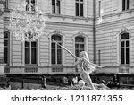 lviv   ukraine   october 6 ... | Shutterstock . vector #1211871355