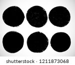 grunge post stamps collection ... | Shutterstock .eps vector #1211873068