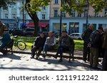 lviv   ukraine   october 06 ... | Shutterstock . vector #1211912242