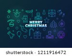 Merry Christmas Vector Colorful ...