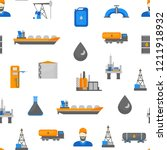 cartoon oil petroleum... | Shutterstock .eps vector #1211918932