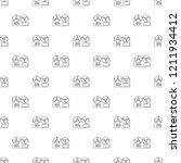 reel tape recorder pattern... | Shutterstock .eps vector #1211934412