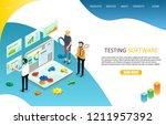 testing software landing page...