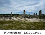 broken stones rock formations... | Shutterstock . vector #1211963488