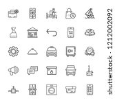 collection of 25 service... | Shutterstock .eps vector #1212002092