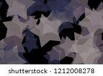 multicolored translucent stars... | Shutterstock . vector #1212008278