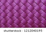 purple leather woven texture... | Shutterstock . vector #1212040195