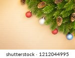 christmas and happy new year...   Shutterstock . vector #1212044995