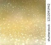 christmas light background. ... | Shutterstock . vector #1212091942