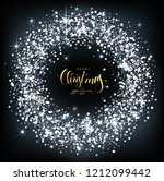 christmas background with... | Shutterstock .eps vector #1212099442
