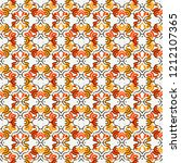 kaleidoscope ornament. stylized ...   Shutterstock .eps vector #1212107365