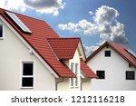 new residential home | Shutterstock . vector #1212116218