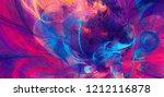 bright artistic splashes....   Shutterstock . vector #1212116878