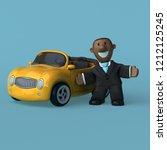 cartoon businessman   3d... | Shutterstock . vector #1212125245