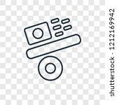 gravity concept vector linear... | Shutterstock .eps vector #1212169942