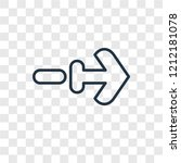 next concept vector linear icon ...