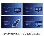 set of websites  landing pages  ...