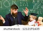grade school concept. teacher...   Shutterstock . vector #1212191635