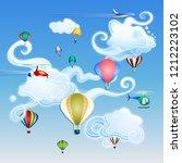 vector illustration. day... | Shutterstock .eps vector #1212223102