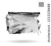 grey brush stroke and texture.... | Shutterstock .eps vector #1212228688