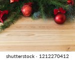 new year's eve  branches with... | Shutterstock . vector #1212270412