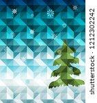 happy new year 2019  merry...   Shutterstock .eps vector #1212302242
